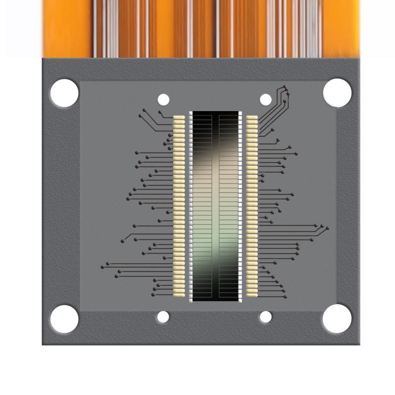 硅光二极管阵列(双32阵列)传感器