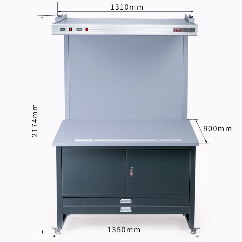 标准光源看样台CC120-E尺寸