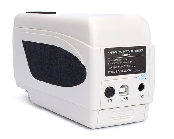 NH300色差儀電源接口